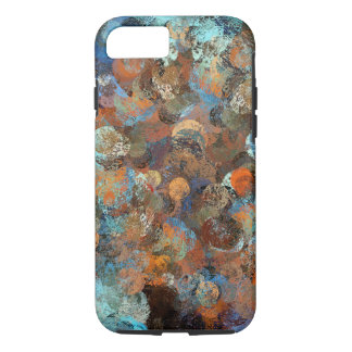 Colorful paint splatter illustration iPhone 7 case