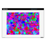 "Colorful Paint Splatter Pattern 15"" Laptop Skin"