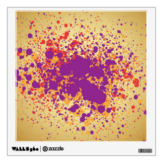 paint drip wall decals amp wall stickers zazzle splatter paint wall decals amp wall stickers zazzle