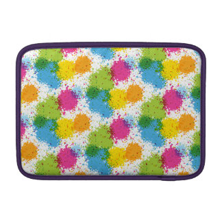 Colorful paintball Paint Design MacBook Sleeve
