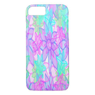 Colorful Painted Paper Flowers iPhone Cases