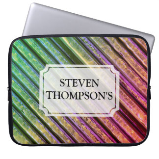 Colorful Painted Texture Laptop Sleeve