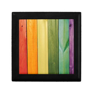 colorful, painted,wood walls,trendy,modern,pattern gift boxes