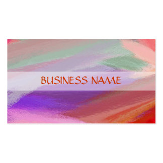 Colorful Painting Abstract Art 11 Double-Sided Standard Business Cards (Pack Of 100)