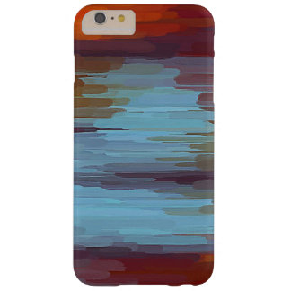 Colorful Painting Abstract Background Barely There iPhone 6 Plus Case
