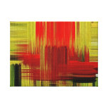 Colorful painting art #2 - Wrapped canvas Canvas Prints
