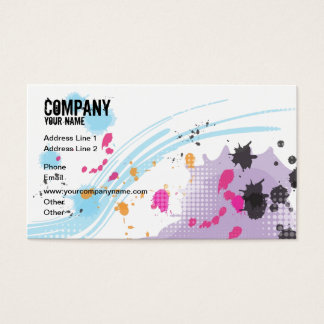 Colorful Painting Business Card