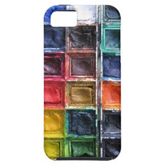Colorful Paints iPhone 5 Case For Art Teachers