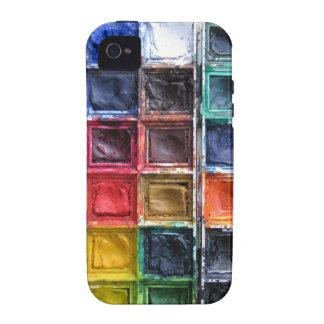 Colorful Paints iPhone Case For Art Teachers Vibe iPhone 4 Case