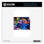 COLORFUL PAISLEY iPod TOUCH 4G SKIN