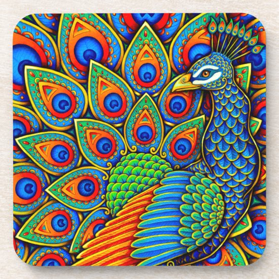 Colorful Paisley Peacock Collection