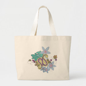 Colorful Paisley Tote bag