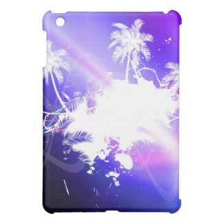 Colorful Palm Trees Grunge Layout iPad Mini Covers