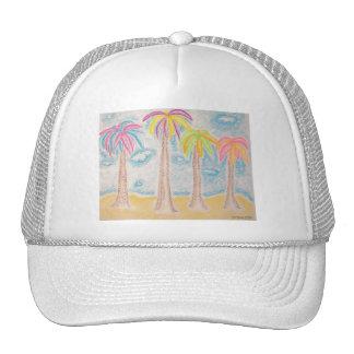 Colorful Palms-hat Trucker Hat