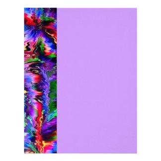 Colorful palpitations letterhead