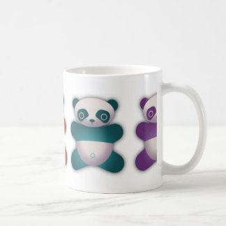 Colorful Panda Coffee Mug