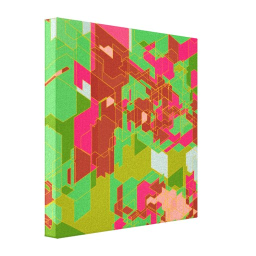 Colorful Panels Canvas Print