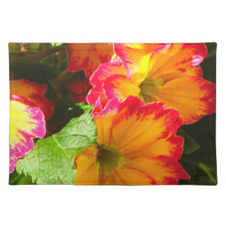 Colorful Pansy Placemat