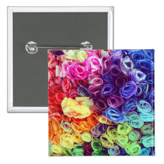 Colorful Paper Flowers Photo Pin