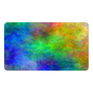 Colorful Paper Reiki Chakra Clouds business cards