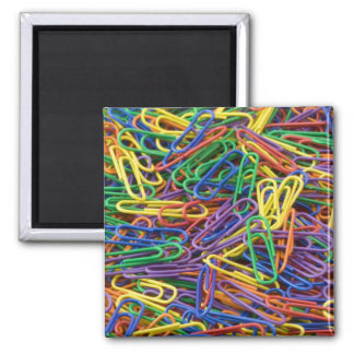 Colorful Paperclips Magnet