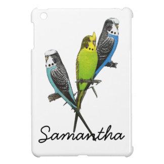 Colorful Parakeets Image iPad Mini Case
