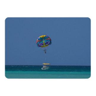 Colorful Parasailing Card