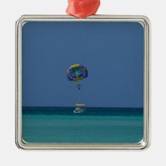 Colorful Parasailing Metal Ornament