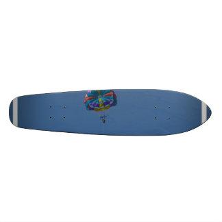Colorful Parasailing Skateboard