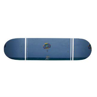 Colorful Parasailing Skateboard Deck