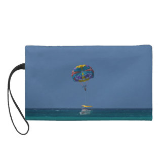 Colorful Parasailing Wristlet Purse