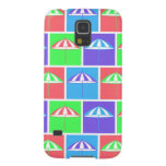 Colorful parasol pattern case for galaxy s5