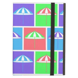 Colorful parasol pattern case for iPad air