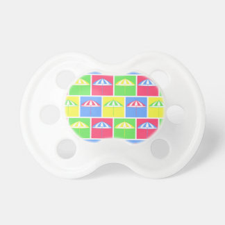 Colorful parasol pattern BooginHead pacifier