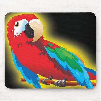 Colorful Parrot Mousepad