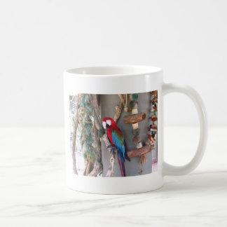 Colorful Parrot Mug - St. John USVI