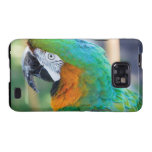 Colorful Parrot Phone Case Galaxy SII Cases
