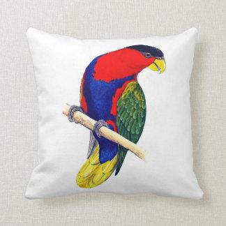 Colorful Parrot Pillow