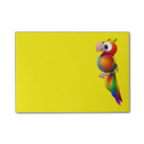 Colorful Parrot Post-it Notes