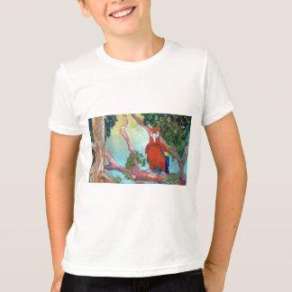 Colorful Parrot T-Shirt