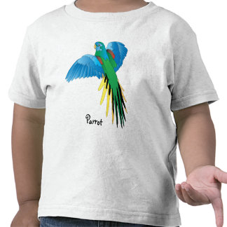 Colorful Parrot Tshirts