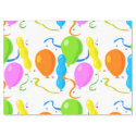 Colorful Party Balloons Tissue Paper