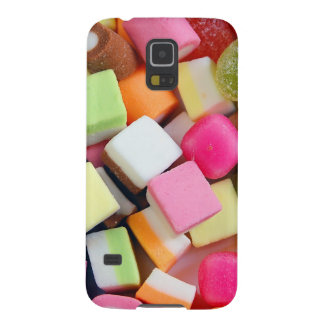 Colorful party candy mix print case for galaxy s5