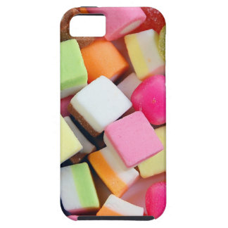 Colorful party candy mix print iPhone SE/5/5s case