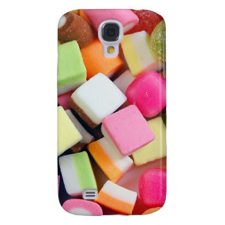 Colorful party candy mix print samsung galaxy s4 case
