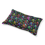 Colorful Party Confetti Dog Bed Small Dog Bed