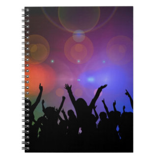 Colorful party journal