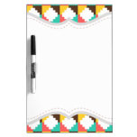 Colorful Pastel Aztec Native American Pattern Dry-Erase Boards