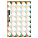 Colorful Pastel Aztec Native American Pattern Gift Dry Erase White Board