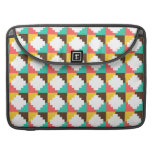 Colorful Pastel Aztec Native American Pattern Gift MacBook Pro Sleeve